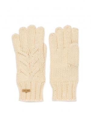 Перчатки  CAMPANA GLOVES Rip Curl. Цвет: бежевый, молочный, кремовый, белый
