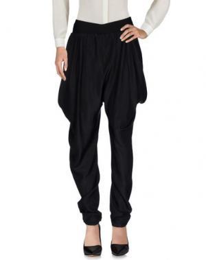 Повседневные брюки LES COPAINS. Цвет: черный