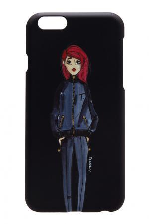 Матовый чехол для iPhone 6 Alexander Terekhov. Цвет: черный