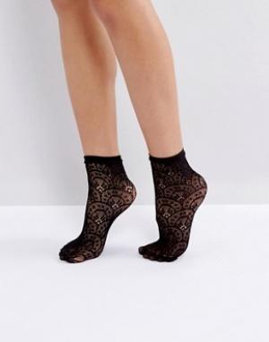 Jonathan Aston Черные носки Treasure. Цвет: черный