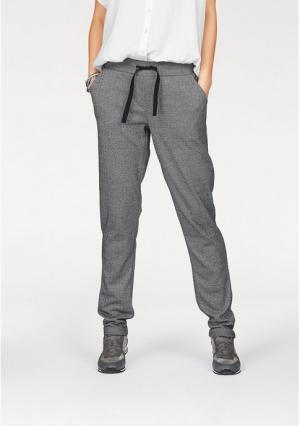 Трикотажные брюки BOYSENS BOYSEN'S. Цвет: серый/с рисунком