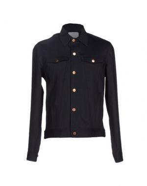 Pубашка U CLOTHING. Цвет: темно-синий
