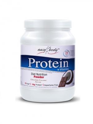 Протеин QNT Easy Body Protein (шоколад-кокос) 350 гр. Цвет: белый
