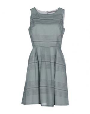 Короткое платье ROSAMUNDA. Цвет: серый