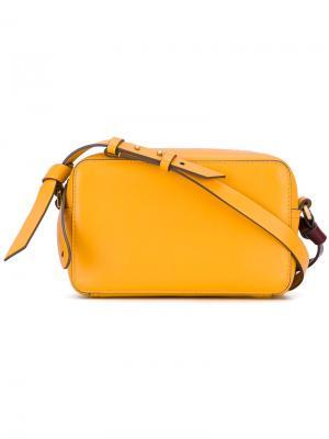 Camera shoulder bag Anya Hindmarch. Цвет: жёлтый и оранжевый