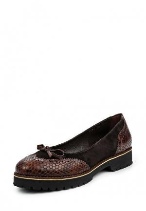 Туфли Ascalini. Цвет: коричневый