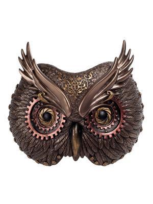 Панно Сова Veronese. Цвет: бронзовый