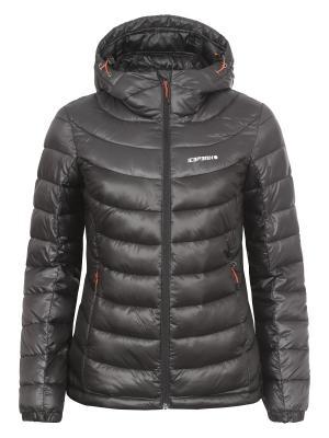Куртка Icepeak. Цвет: темно-серый