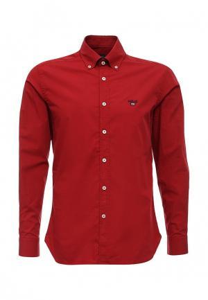 Рубашка Lion of Porches. Цвет: красный