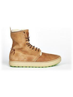 Ботинки Satorisan. Цвет: светло-коричневый