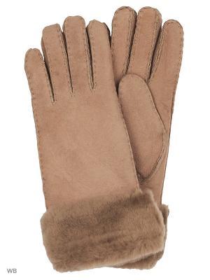 Перчатки EMU AUSTRALIA. Цвет: коричневый