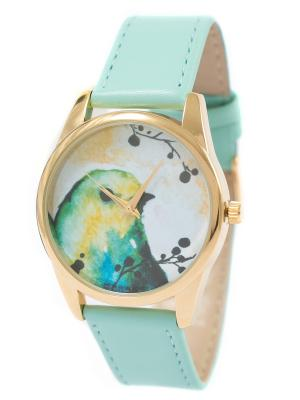 Часы наручные Mitya Veselkov. Цвет: бирюзовый