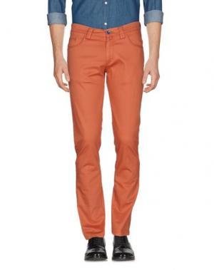 Повседневные брюки BARBATI. Цвет: ржаво-коричневый