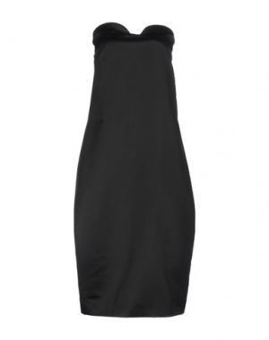 Платье до колена ISSA. Цвет: черный
