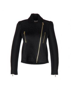 Куртка PICCIONE•PICCIONE. Цвет: черный