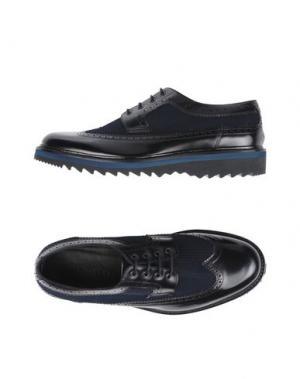 Обувь на шнурках MARC JACOBS. Цвет: темно-синий