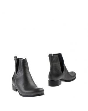 Полусапоги и высокие ботинки SCOOP. Цвет: свинцово-серый
