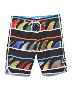 Пляжные брюки и шорты BILLABONG. Цвет: темно-коричневый