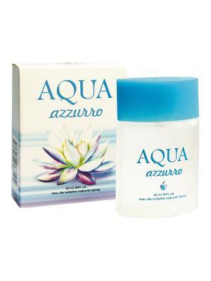 Туалетная вода Aqua azzurro (Аква Азуро) жен. 30ml APPLE PARFUMS. Цвет: прозрачный