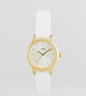 Limit Часы 26 мм с белым ремешком из искусственной кожи эксклюзивно дл. Цвет: белый