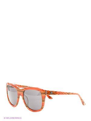 Солнцезащитные очки MM 549 02 Missoni. Цвет: оранжевый