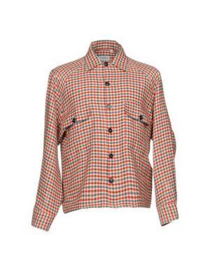 Pубашка CAMO. Цвет: красный