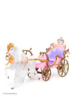 Набор игровой Карета с лошадью VELD-CO. Цвет: белый, бледно-розовый