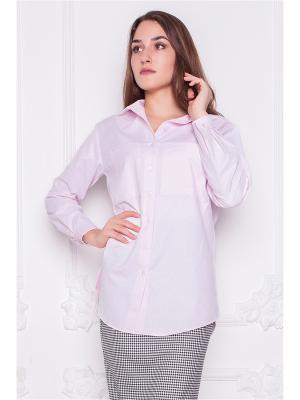 Блузка Lautus. Цвет: розовый