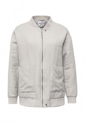 Куртка утепленная Native Youth. Цвет: серый