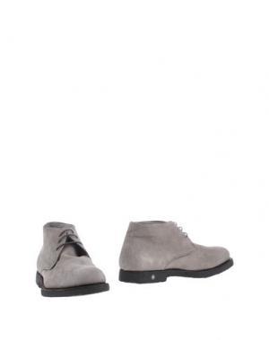 Полусапоги и высокие ботинки ANDREA VENTURA FIRENZE. Цвет: серый