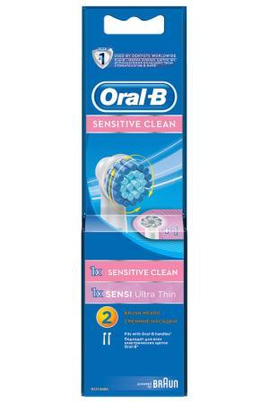 Насадки ORAL-B Sensitive, 2 шт ORAL B. Цвет: none