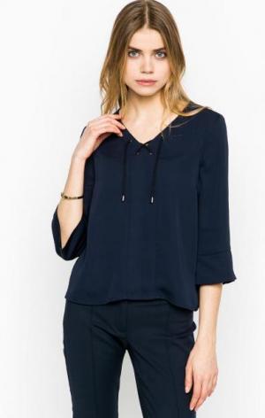 Синяя блуза с рукавами 3/4 MORE &. Цвет: синий