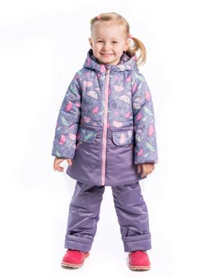 Комплект зонтики Аксарт. Цвет: темно-фиолетовый, салатовый, фиолетовый