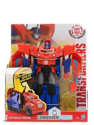 Трансформеры Роботс-ин-Дисгайс Гиперчэндж Transformers. Цвет: красный, синий
