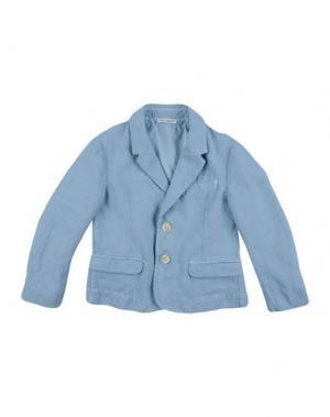 Пиджак DOLCE & GABBANA. Цвет: небесно-голубой