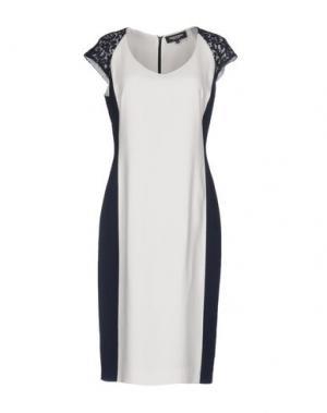Платье до колена MARTA PALMIERI. Цвет: белый