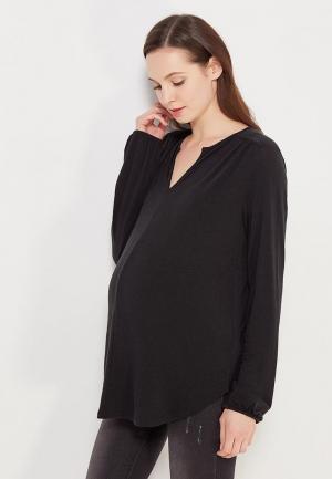 Лонгслив Gap Maternity. Цвет: черный
