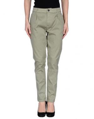 Повседневные брюки MACCHIA J. Цвет: светло-зеленый