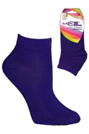 Носки женские Totall. Цвет: фиолетовый