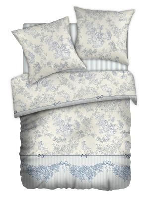 Постельное белье Romantic Collection. Цвет: голубой