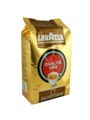 Кофе в зернах LAVAZZA Oro. Цвет: молочный, красный