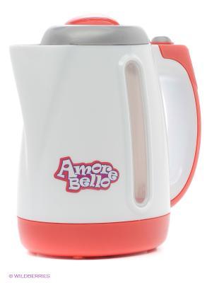 Чайник Amore Bello. Цвет: белый, красный