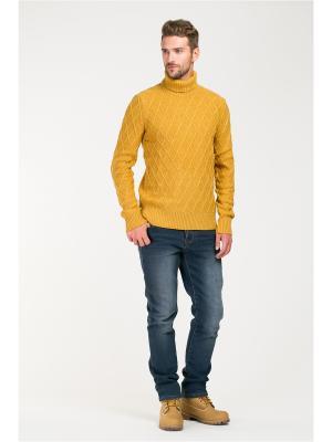 Свитер Baon. Цвет: желтый