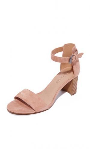 Туфли на каблуках Lainy City с ремешком щиколотке Madewell. Цвет: пыльная глина