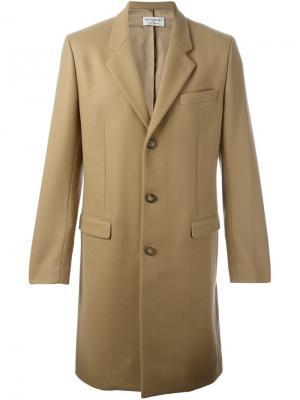 Классическое пальто Éditions M.R. Цвет: телесный