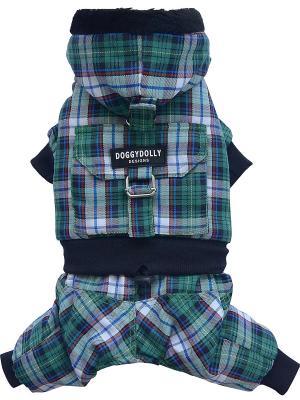 Куртка Doggy Dolly. Цвет: зеленый
