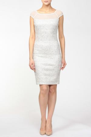 Платье Frank Lyman Design. Цвет: белый, золотой