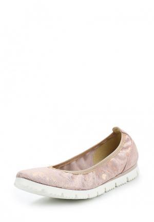 Балетки Marco Tozzi. Цвет: розовый