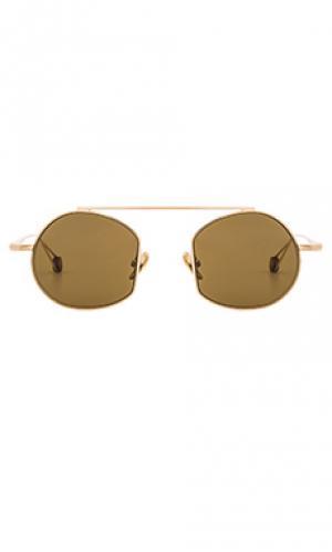 Солнцезащитные очки victoire Ahlem. Цвет: металлический золотой