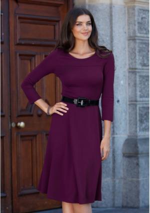 Платье MY STYLE. Цвет: лиловый